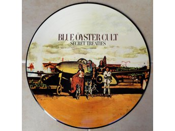 BLUE OYSTER CULT 'Secret Treaties' picture-disc LP