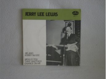 Jerry Lee Lewis  -  Me and Bobby Mcgee                 OMSLAG ENDAST.!!