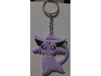 Pokemon Nyckelring Lila 68x59mm nr 2  ** 1 st **
