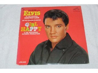ELVIS PRESLEY - GIRL HAPPY 1965 POP, ROCKABILLY, HAWAII