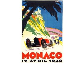 MONACO GRAND PRIX 1932 & 1933 EXTREM ART DÉCO Motorsport race 2 x A2 posters - Helsingborg - MONACO GRAND PRIX 1932 & 1933 EXTREM ART DÉCO Motorsport race 2 x A2 posters - Helsingborg