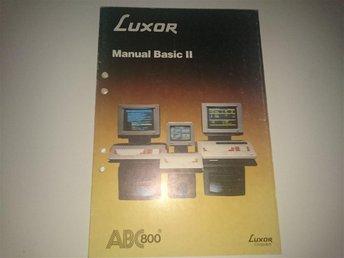 LUXOR ABC 800 - Manual Basic II - Ljungby - LUXOR ABC 800 - Manual Basic II - Ljungby
