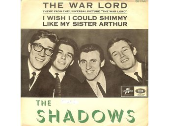 "Shadows  - Theme from ""The war lord"" / I wish I could ...  1965  VG+"