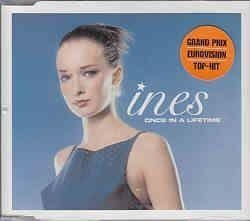 "Eurovision 2000 Estonia Ines ""Once in a lifetime"" CD-single"