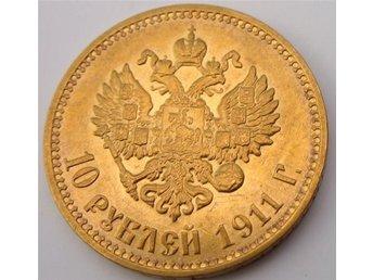 10 rubel 1911 RYSSLAND .. RARE..(RR) - Warszawa - 10 rubel 1911 RYSSLAND .. RARE..(RR) - Warszawa