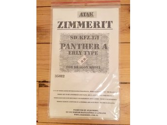 Zimmerit till Panther A, 1/35. Resin