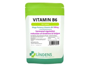 Lindens Vitamin B6 100 mg 100 Tabletter B-6