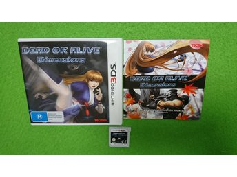Dead or Alive Dimensions KOMPLETT Nintendo 3DS