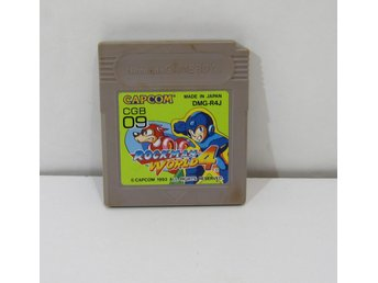 Rockman World 4 (mega man iv) till game boy GB