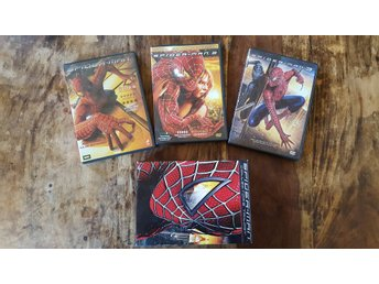 Spiderman / Collector's trilogy/ Action / DVD (3 disc box) / Sam Rami