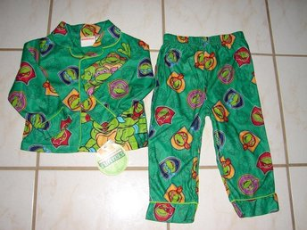 Nickelodeon Turtles Pyjamas från USA 3 År  Ny