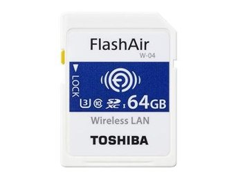 Toshiba SD FlashAir NW04 64GB Wlan (90/70 Mb/s)