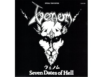 VENOM - SEVEN DATES OF HELL (GATEFOLD, YELLOW VINYLS) 2xLP