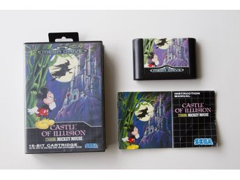 Castle of Illusion Starring Mickey Mouse - Komplett - CIB - Sega Mega Drive