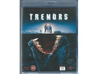 TREMORS - KEVIN BACON  ( BLU-RAY-SVENSKT)