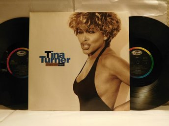 TINA TURNER - SIMPLY THE BEST - 2-LP