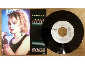 "Madonna Crazy For You 7"" Splitsingel"