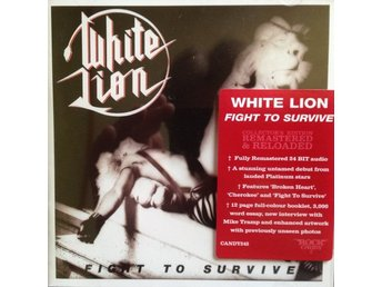 WHITE LION-Ny CD Collector´s Edition-Fight To Survive-Remastered & Reloaded