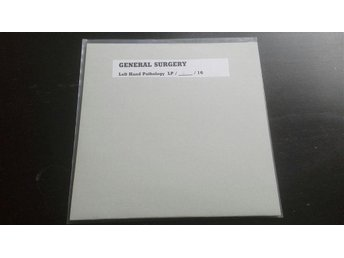 General Surgery - Left hand pathology Test Press nr 6/16 (carcass nasum entombed