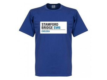 Chelsea T-Shirt Stamford Bridge Sign L
