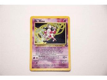 Mr. Mime (Holo/Foil) (6/64) - Pokémon kort - Karlstad - Mr. Mime (Holo/Foil) (6/64) - Pokémon kort - Karlstad