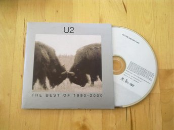 U2 - The Best Of 1990 - 2000 PROMO DVD Rare