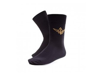 Zelda Strumpor Golden Triforce Logo 39-42