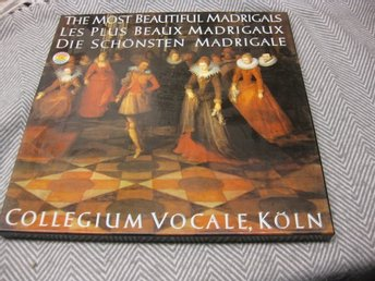 Collegium Vocale Köln-The Most Beautiful Madrigals -BOX