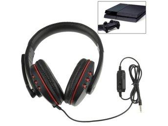Gaming Headset med mic and volymkontroll för PS4 (3.5m) - åkersberga - Gaming Headset med mic and volymkontroll för PS4 (3.5m) - åkersberga