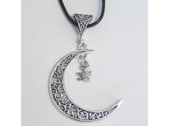 Fisk måne halsband / Fish moon necklace