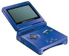 Gameboy Advance SP Basenhet Blå -  - Gameboy Advance