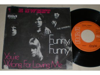 Sweet 45/PS Funny funny 1971