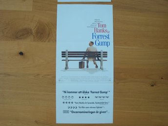 FOREST GUMP 30x70 1994 Tom Hanks