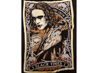 The Crow  t-shirt Large