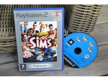 The Sims PS2 Playstation 2 (Platinum) Fint Skick
