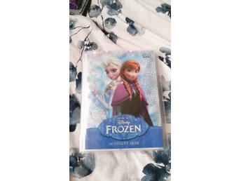 Frozen samlar kort - nästan komplett, ALLA limited edition, activity cards frost