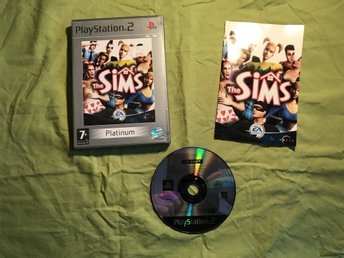 THE SIMS PS2 PLAYSTATION 2