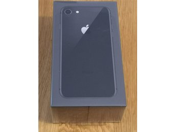 iPhone 8 64GB Space Gray helt ny oöppnad med kvitto