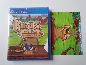 Knights of Pen & Paper - Strictly Limited Games #7 - PS4 NYTT