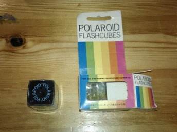 Polaroid Flashcubes
