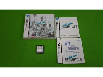 Final Fantasy 3 KOMPLETT Nintendo DS
