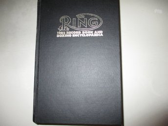 Boxning The Ring Record Book and Boxing Encyclopedia 1982