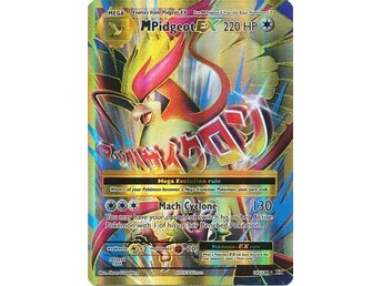 Mega M Pidgeot EX - 105/108 - Full Art Ultra Rare - XY: Evolutions