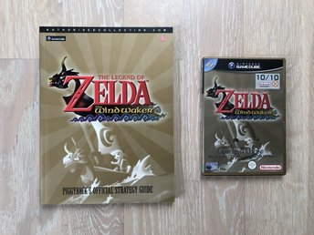 The Legend of Zelda - Wind Waker limited edition + Piggyback's Strategy Guide