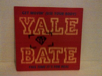 Yale Bate - Get moving (Use your body), vinyl single