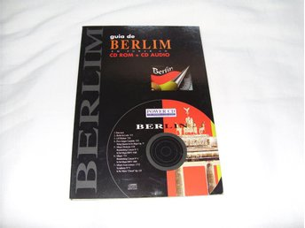 Rese Guide Berlin CD ROM + CD Audio till PC & Mac datorer