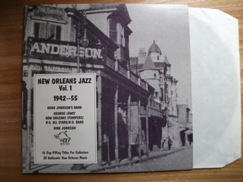 NEW ORLEANS JAZZ 1942-55  LP Bunk Johnson mm