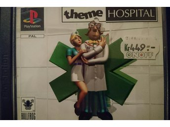 Theme Hospital - PS1 - komplett med manual