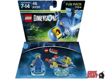 Lego Dimensions The Lego Movie Benny Fun Pack 71214 - Norrtälje - Lego Dimensions The Lego Movie Benny Fun Pack 71214 - Norrtälje