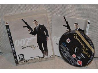 007 Quantum of Solace James Bond PS3 Playstation 3 Komplett Fint Skick - Hässleholm - 007 Quantum of Solace James Bond PS3 Playstation 3 Komplett Fint Skick - Hässleholm